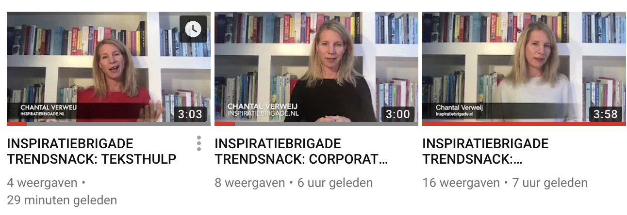 Trendsnacks op youtube